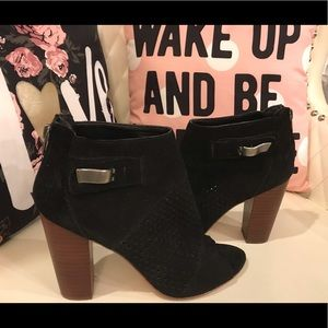Dolce Vita Black Ankle Boots